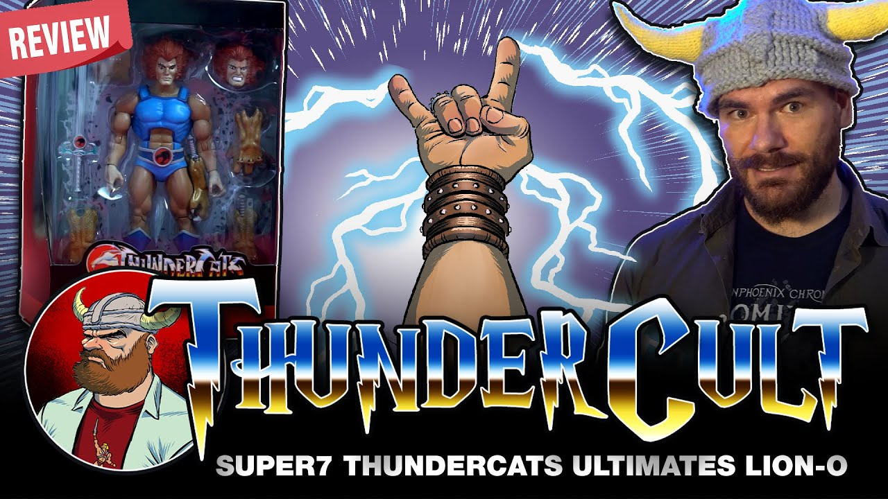 Thundercats Ultimates Lion-O Review